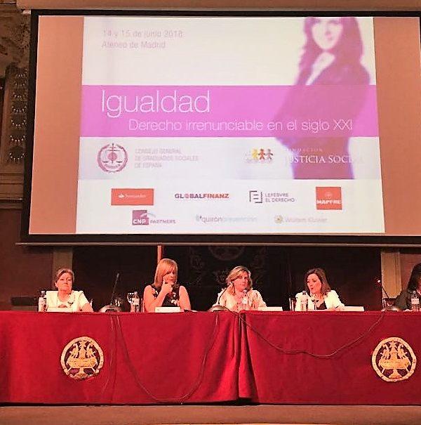 """""""Igualdad: Derecho irrenunciable en el siglo XXI"""""""